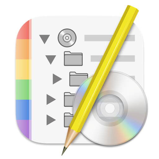 Disc Catalog Maker Icon